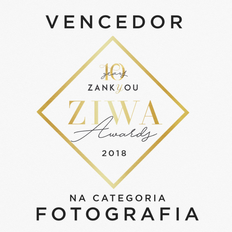 Prêmiado ZIWA 2018 na Categoria Fotografia – Zankyou Weddings