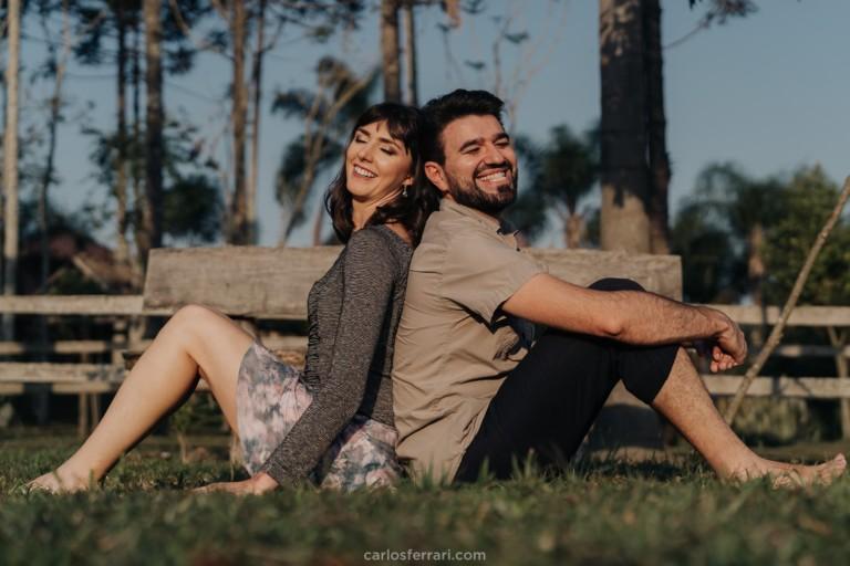 Ensaio Pré Casamento: Franciane e Samuel – Serra Gaúcha