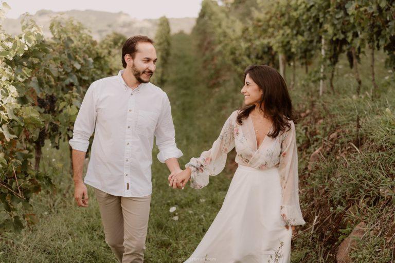 Ensaio Pré Casamento: Fernanda e Victor – Vinícola Casa Fontanari
